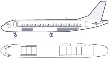 Провоза ручной клади в самолете в